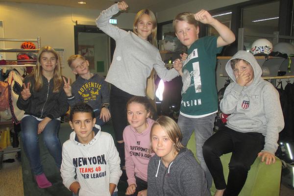 Elever från klass 5A