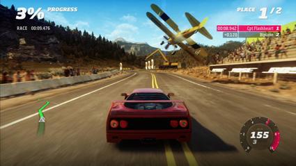 En bil i tv-spelet Forza Horizon