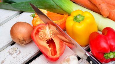 foto på grönsaker.