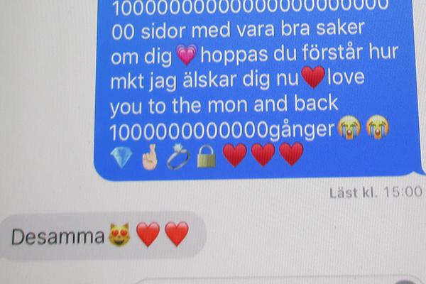 Ett kärleksfullt sms.