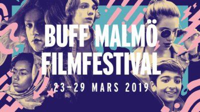 affisch där det står BUFF MALMÖ FILMFESTIVAL