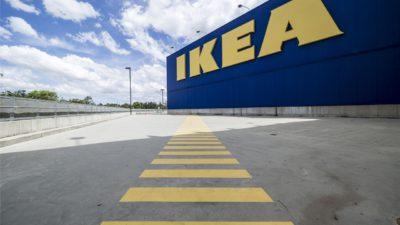 Bild på ett IKEA varuhus.