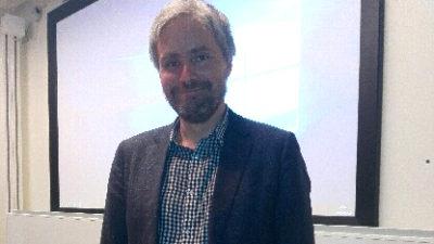 Anders Nordström, universitetslektor.