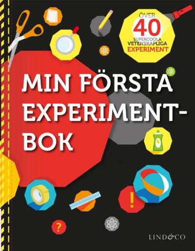 En bild på boken. På omslaget är det massa verktyg och symboler.