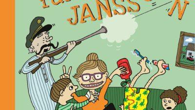 Bokomslag till En helt vanlig vecka med familjen Jansson.