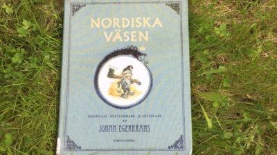 Foto på boken Nordiska väsen