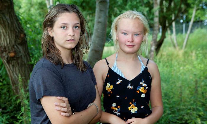Två elever på skola i Lund