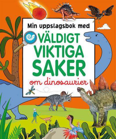 Bok med dinosaurier på