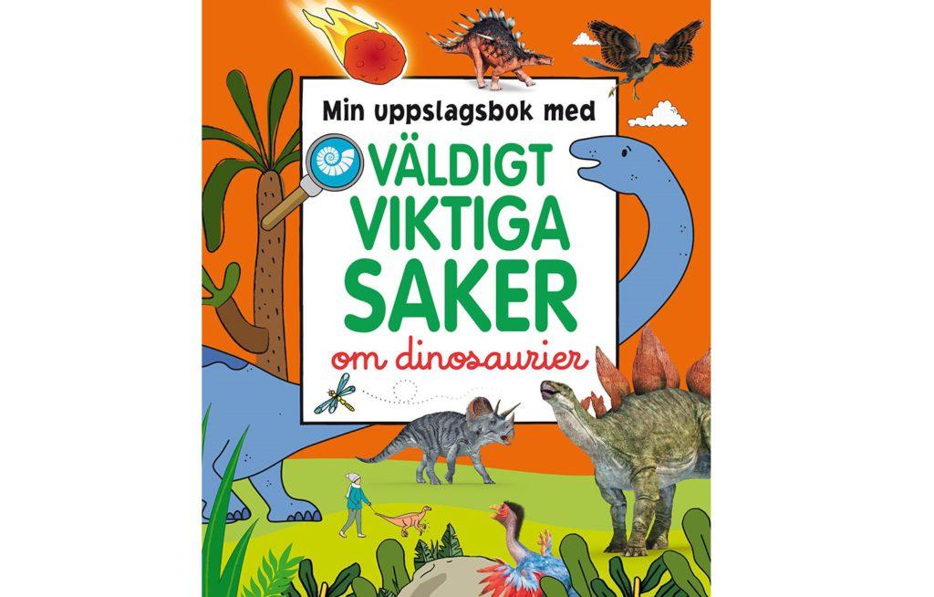 Bok med dinosaurier på.