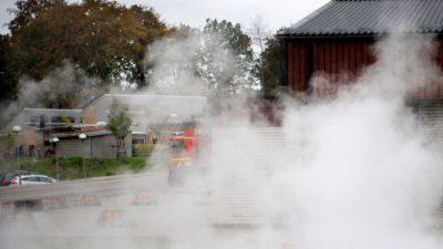 Foto på röken.