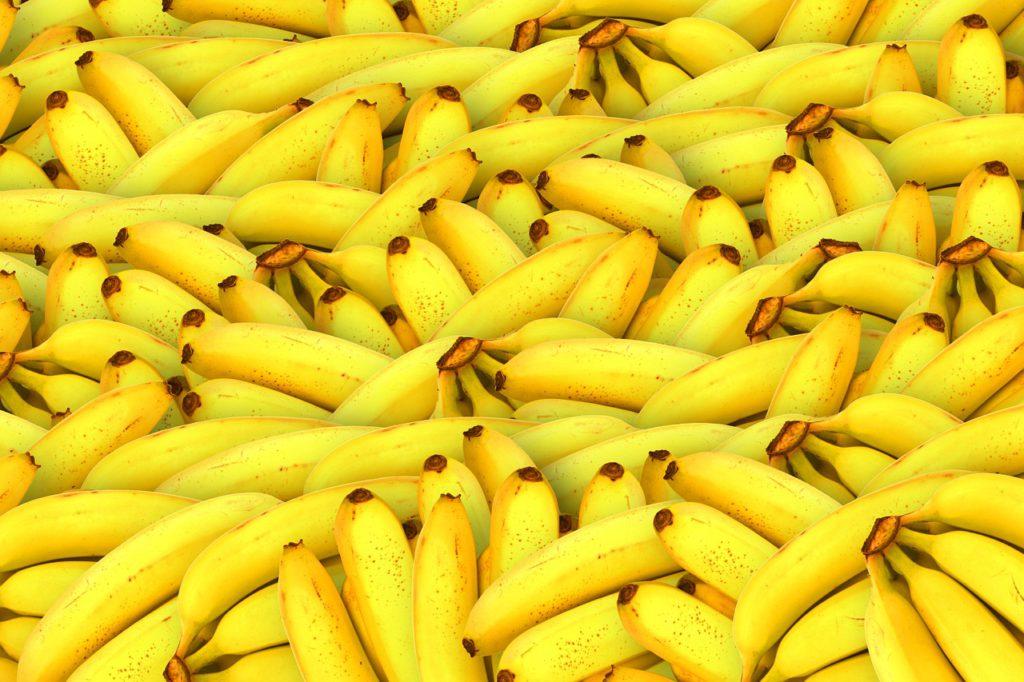 Jättemånga bananer