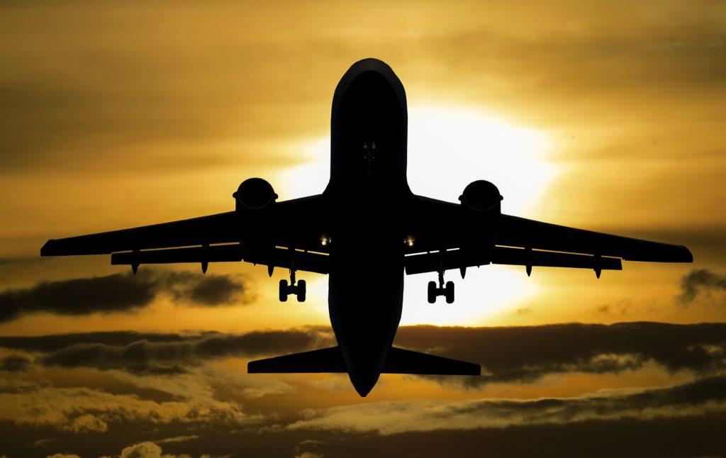 Ett flygplan.