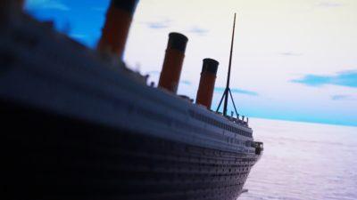 Fartyget Titanic.
