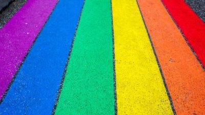 Prideflaggans färger