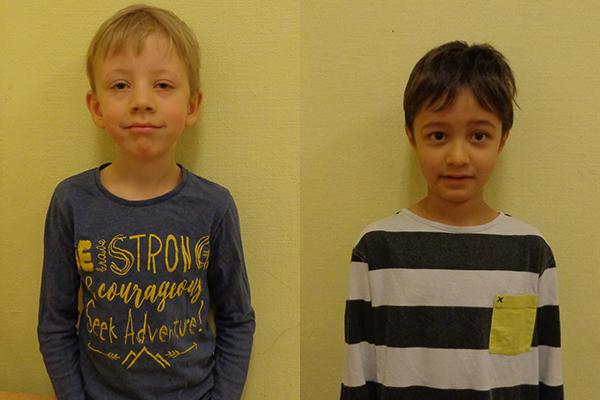 Vincent och Luke