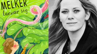 Foto på bokens omslag samt ett porträtt på Anna Lundgren.