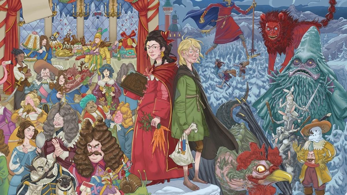 Bild från boken Knäckarbanketten