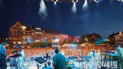 Stora scenen på Malmöfestivalen