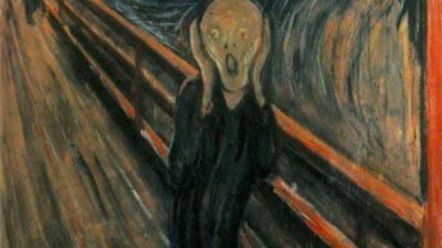 """Edvard Munchs målning """"Skriet"""""""