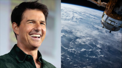 Skådespelaren Tom Cruise