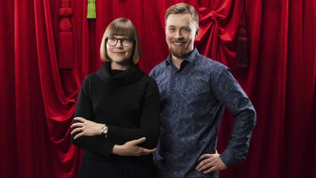 Sara Bergmark Elfgren och Emil Maxén