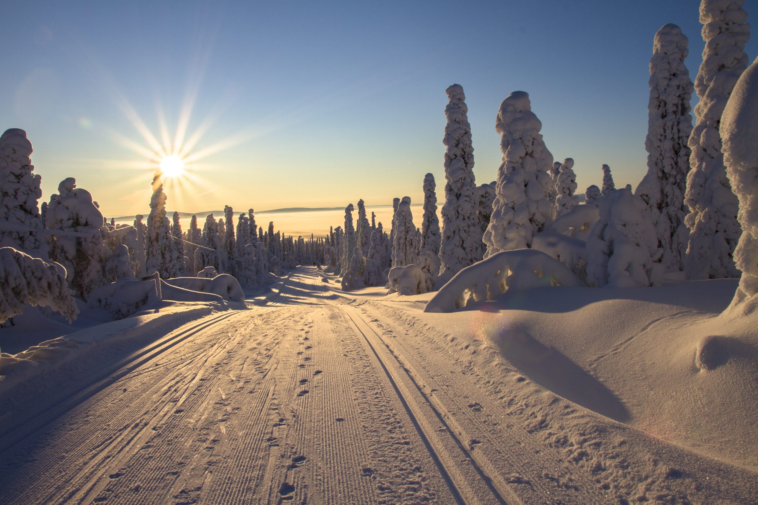 Midnattssol i Finland