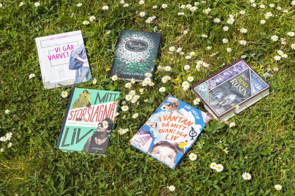 Nominerade böcker till Barnradions bokpris 2020
