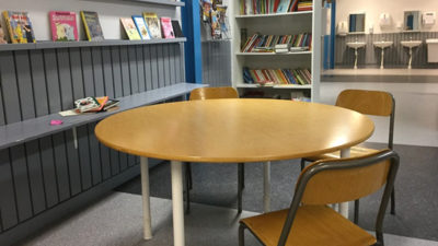 Skolbiblioteket.