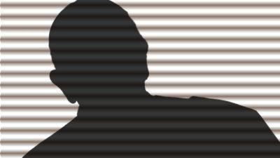 En anonym person