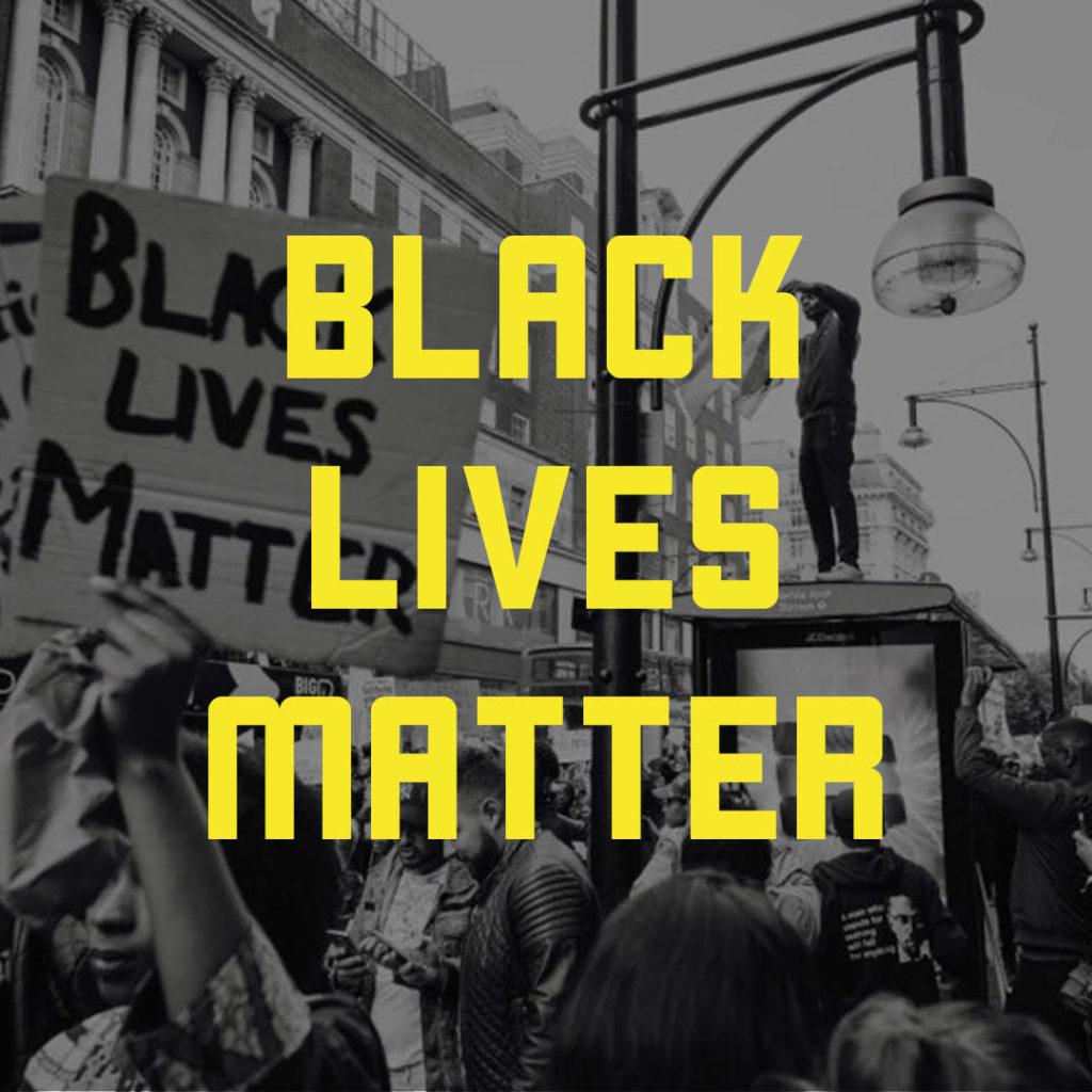 Bild från organisationen Black Lives Matter