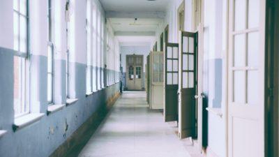 En korridor