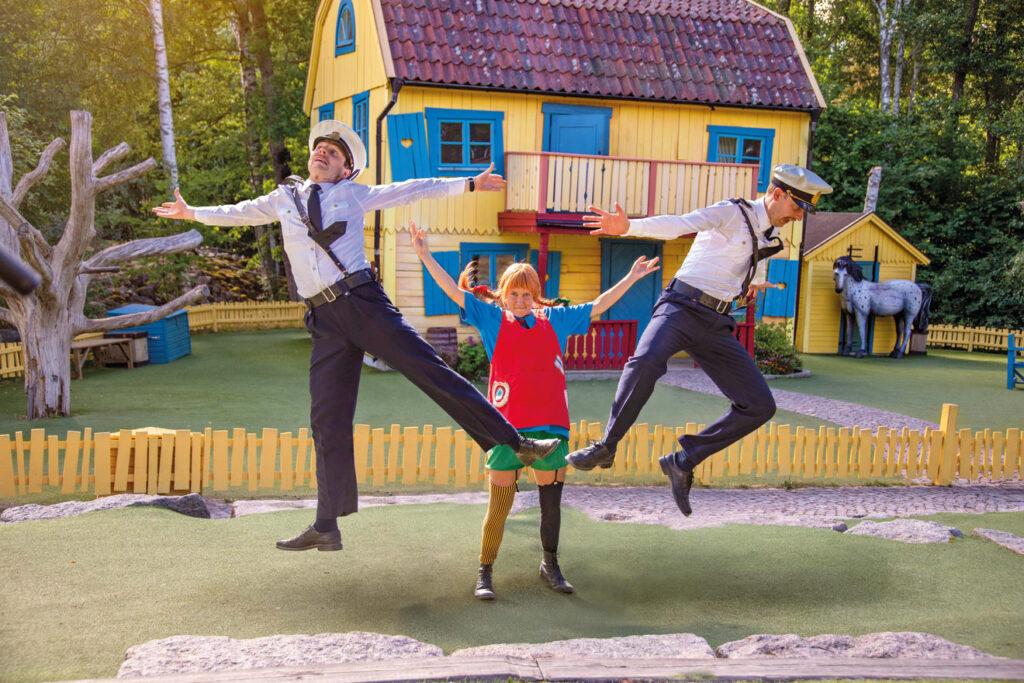 Föreställning på Astrid Lindgrens värld