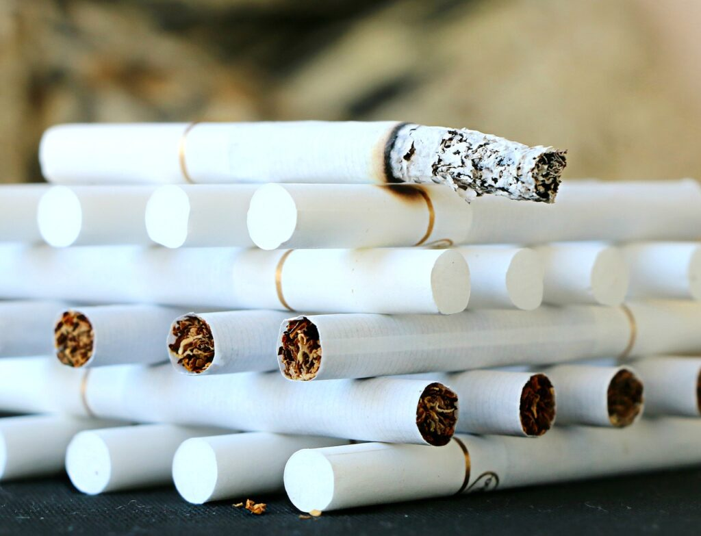 Jordanien röker mest i världen