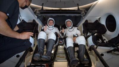 Astronauterna Robert Behnken och Douglas Hurley