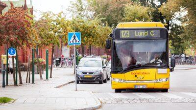 En buss i Lund