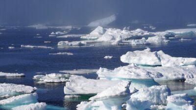 Isberg på Grönland