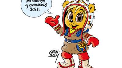 Bamse åker till Sápmi