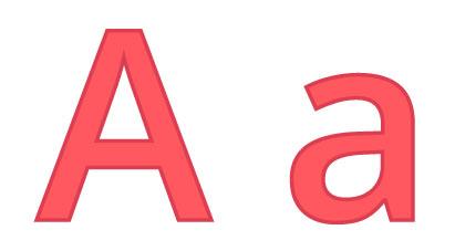 Bokstaven A