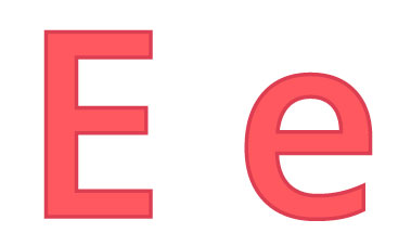 Bokstaven E