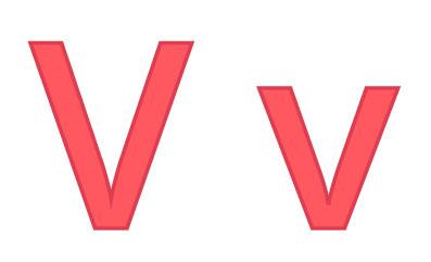 Bokstaven V