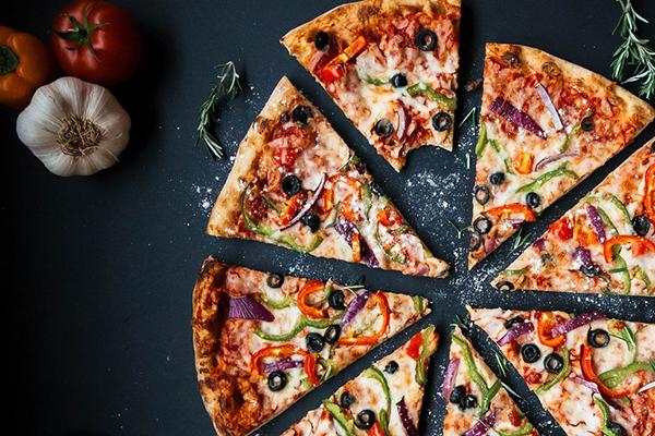 En pizza