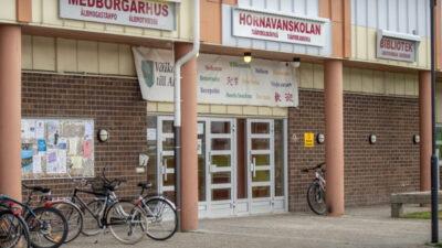 Foto på Medborgarhuset i Arjeplog