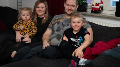 Sarah, Livia, Jonatan och Olyver
