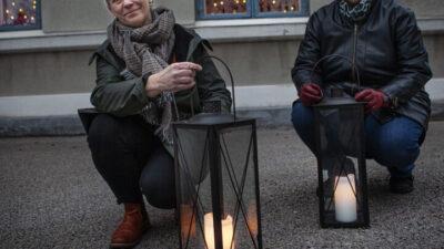 Eva Skåre och Ann-Christin Wigermo