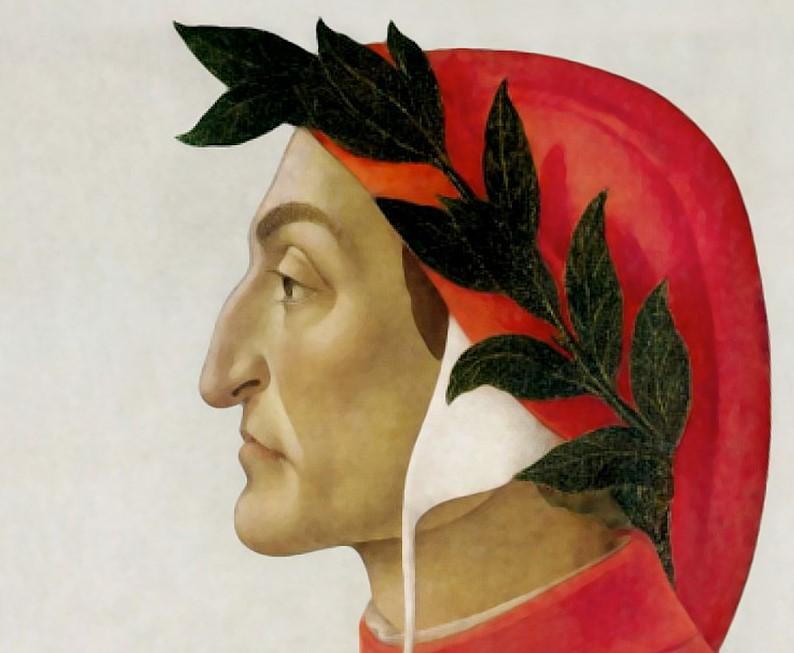Dante Alighieri dömdes till döden för 700 år sen.
