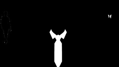 En figur med en manlig och kvinnlig chef