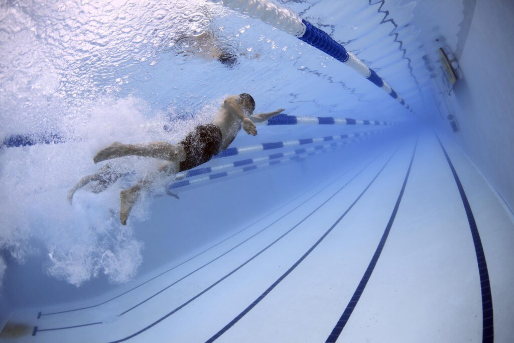 En simmare