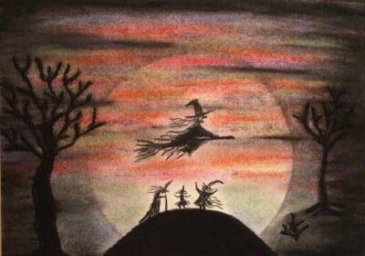 Tävla med skrämmande historier