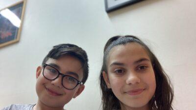 Benjamin och Viktoria