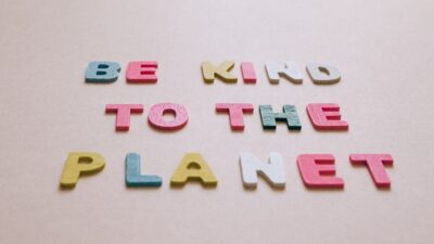 Be kind to the planet